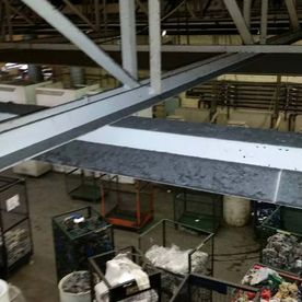 Seapark Industrial Roofing Frames
